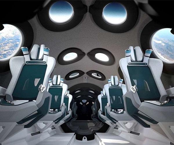 Inside Virgin Galactic SpaceShipTwo