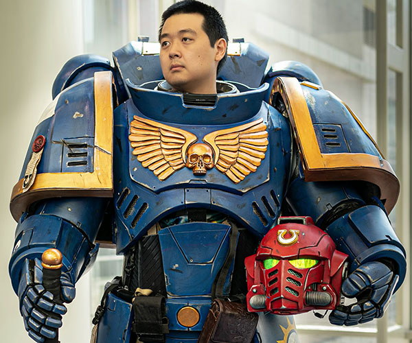 Warhammer Ultramarines Cosplay