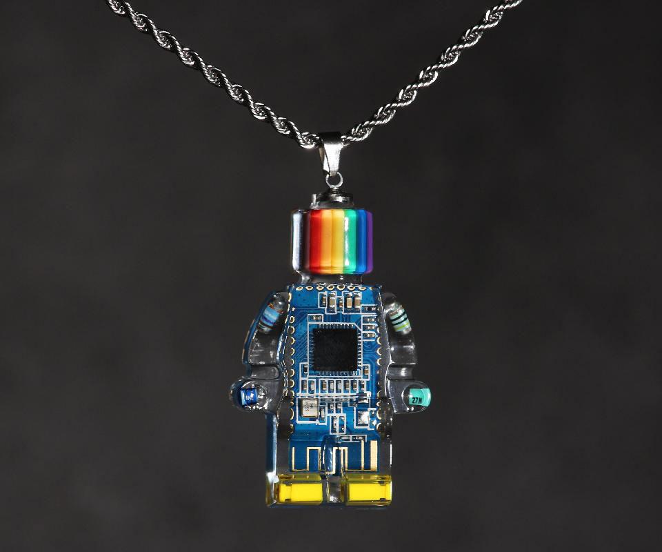 Xalipha Electro Minifig Pendants
