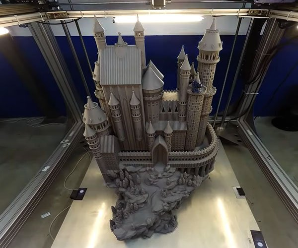 Giant Castle 3D Print