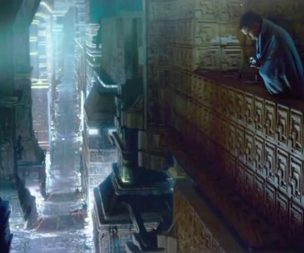 Blade Runner Blues + Rain