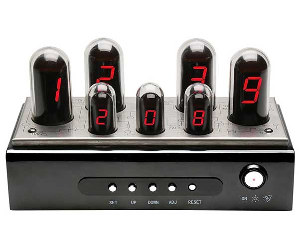 "Art Artifact LED ""Nixie"" Clock"