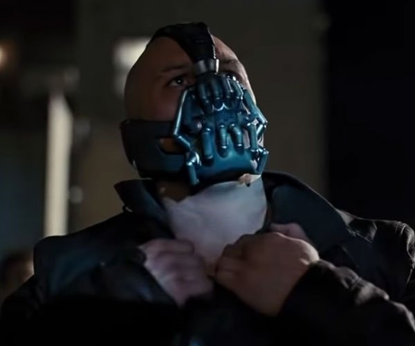 Even Bane Wears a Mask