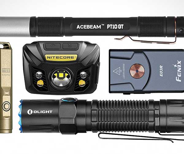 Best Rechargeable Flashlights 2020