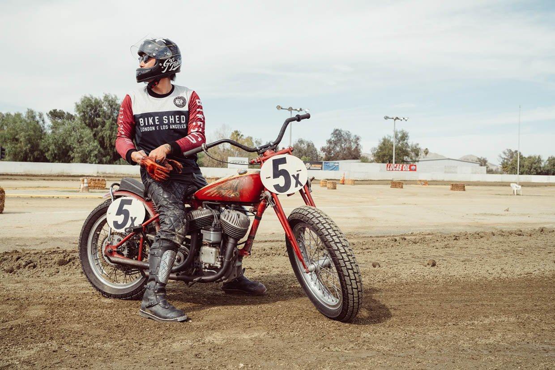 Bike Shed x Indian Race Jersey