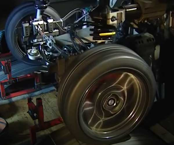 Car Suspension Stress Test