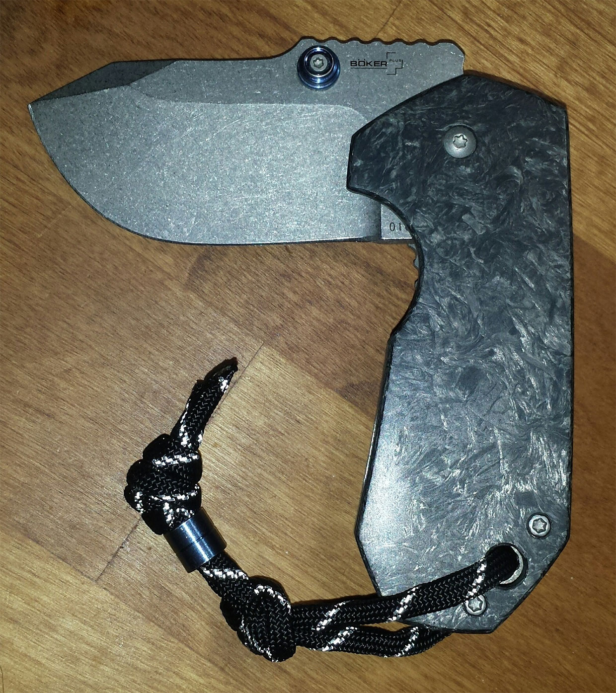 Carbon Fiber Anso Albatross Knife