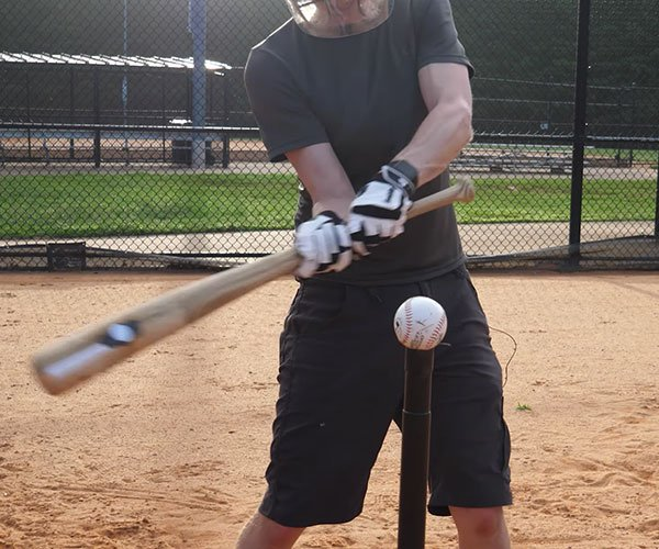 Explosive Baseball Bat