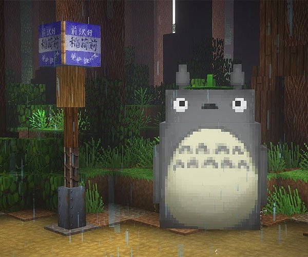 Ghibli in Minecraft