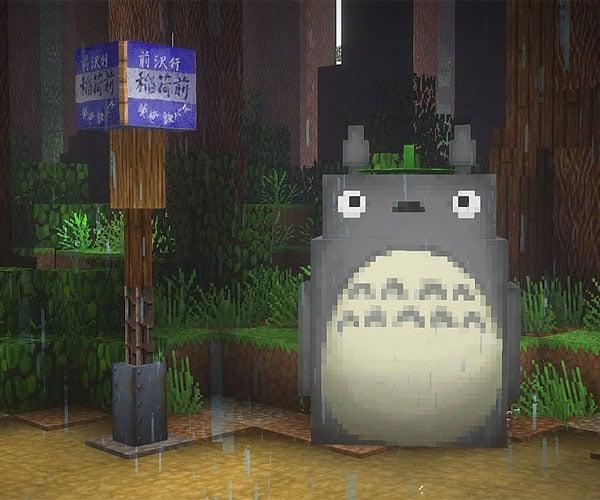 Ghibli in Minecraft