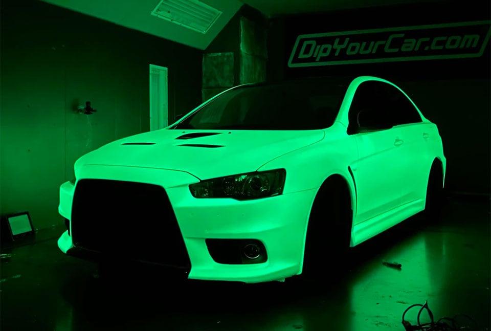 Brightest Glow-in-the-Dark Car