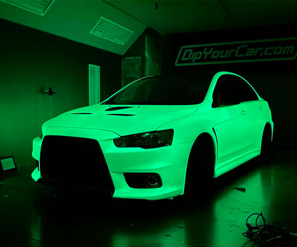 Brightest Glow-in-the-Dark Car