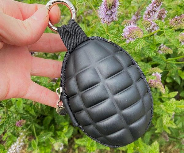 Grenade Zipper Pouch