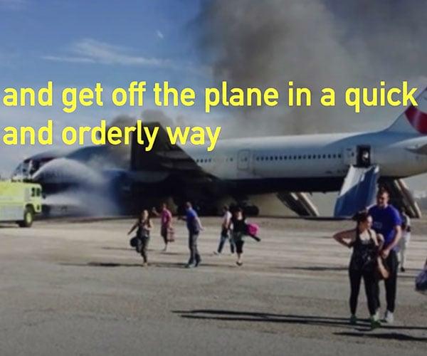 Honest Pre-flight Safety Video
