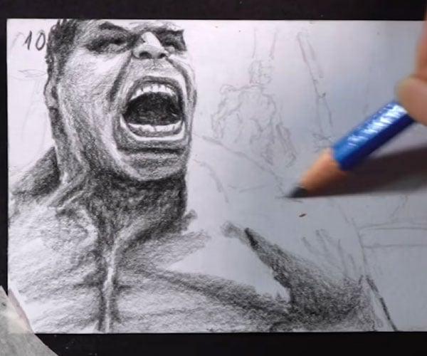 Hulk Flipbook Animation
