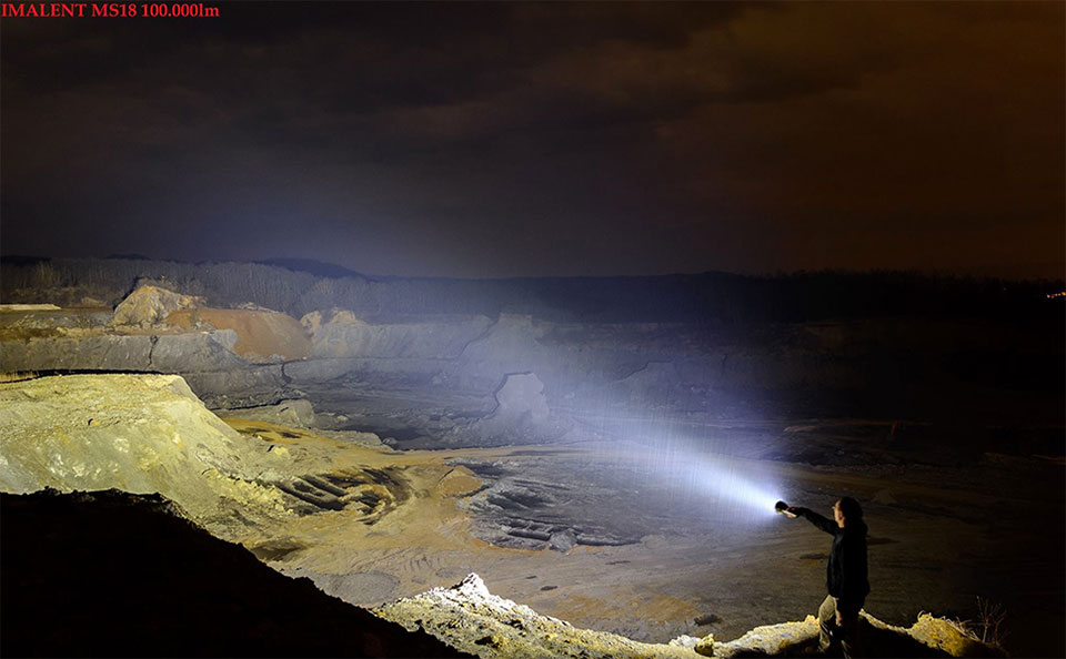 Imalent MS18 Flashlight