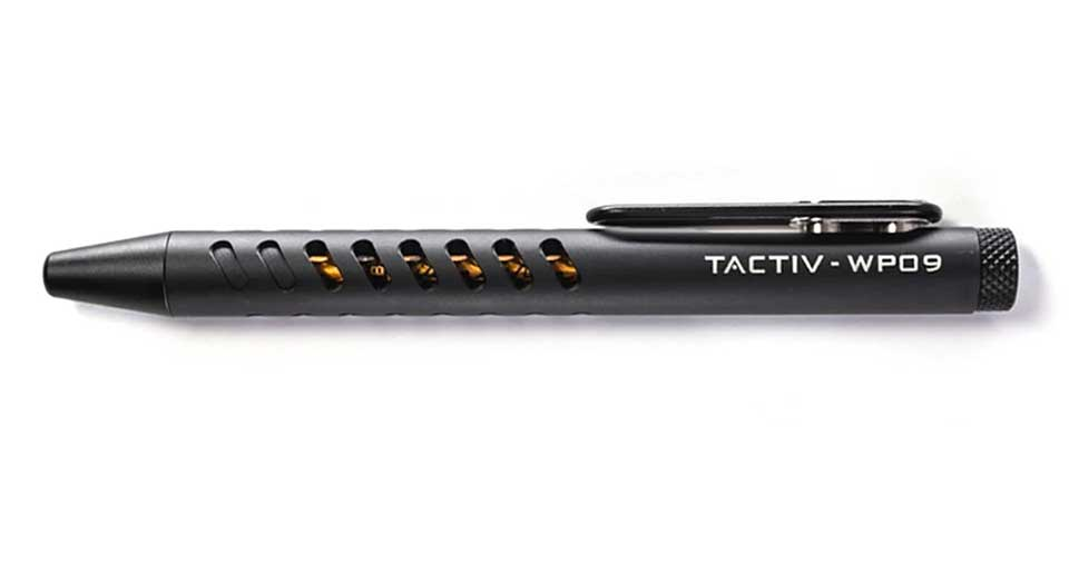 KeySmart Tactiv Bolt-action Pen
