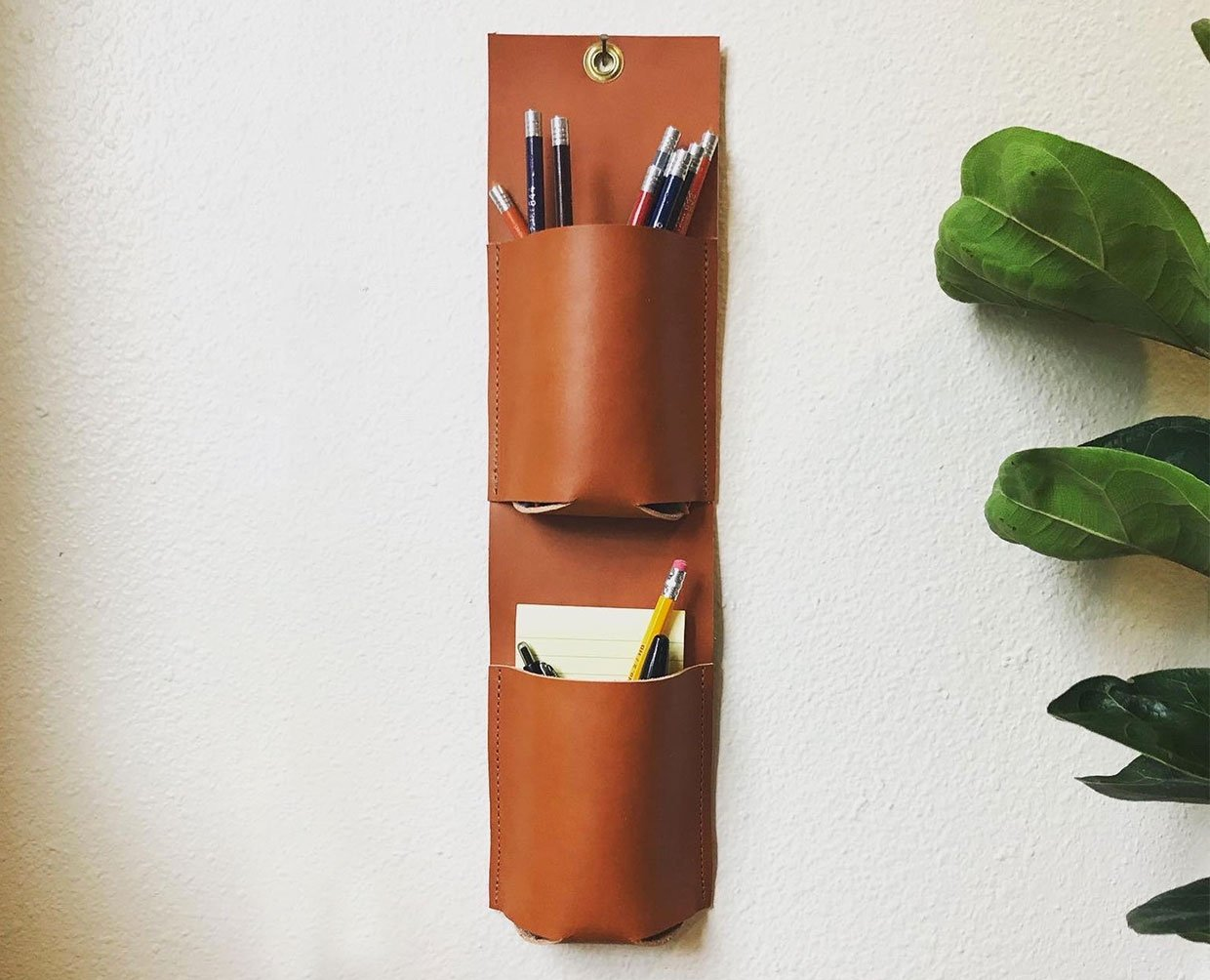 Leather Wall Organizers