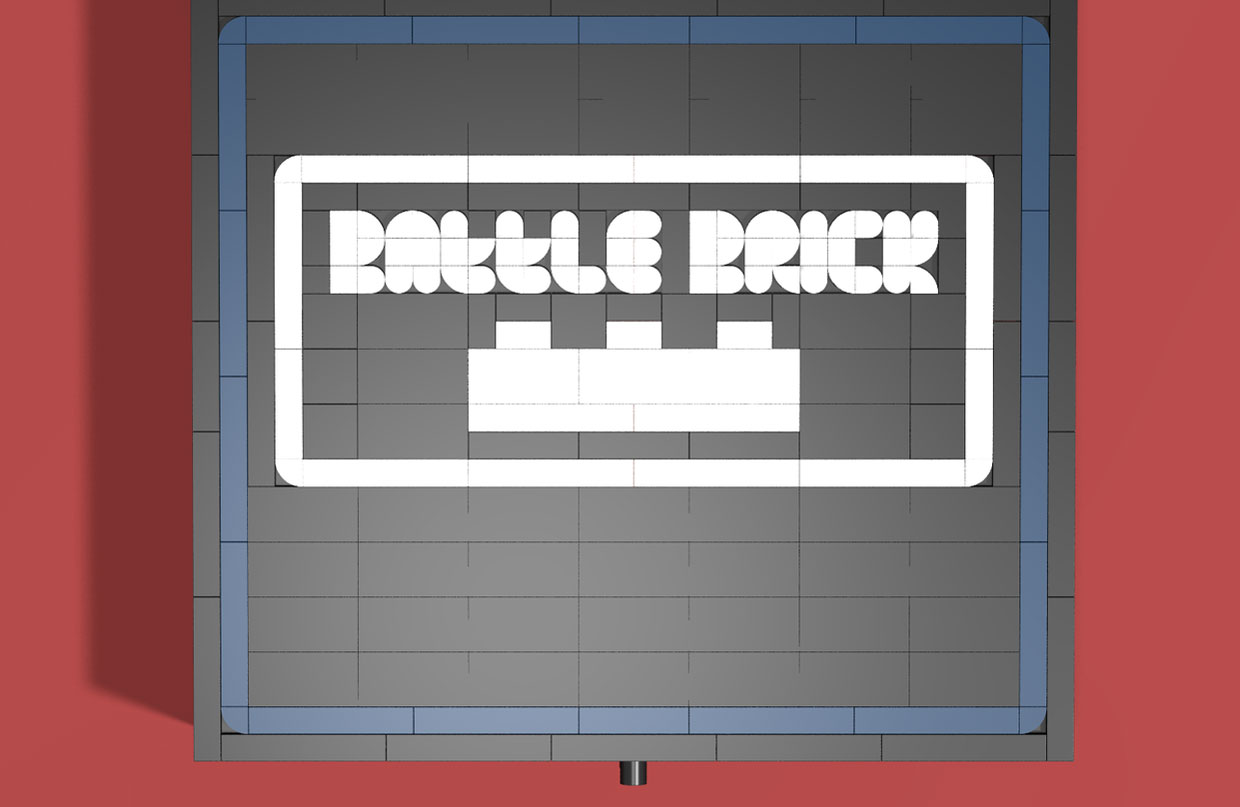 LEGO Ideas Battle Brick Game