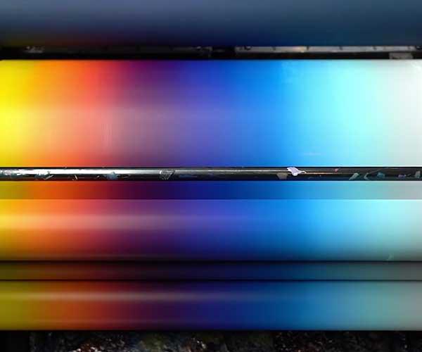 Letterpress Color Blending