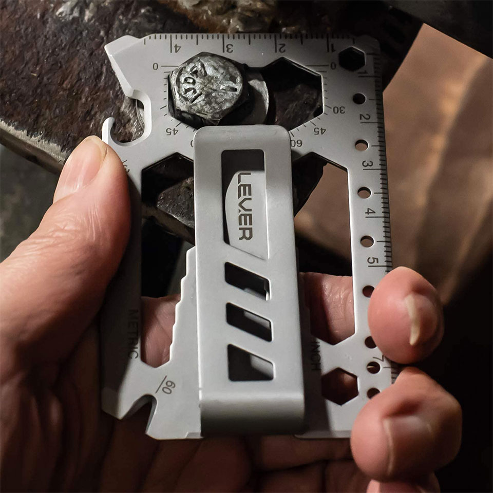 Lever Gear Toolcard Pro