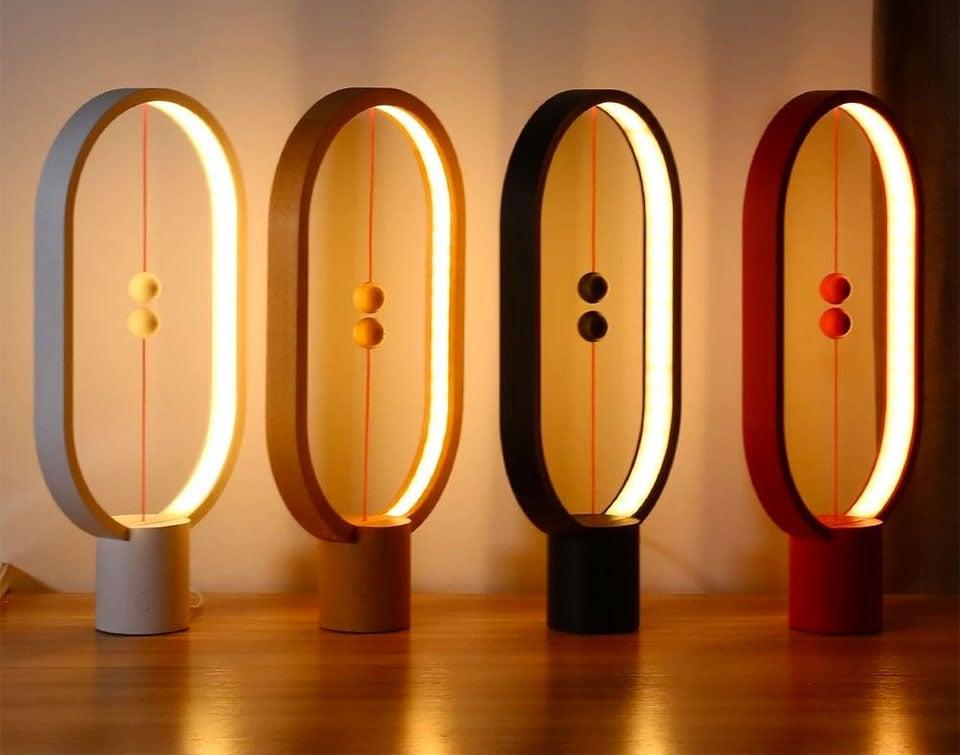 Marangoni Magnetic Lights