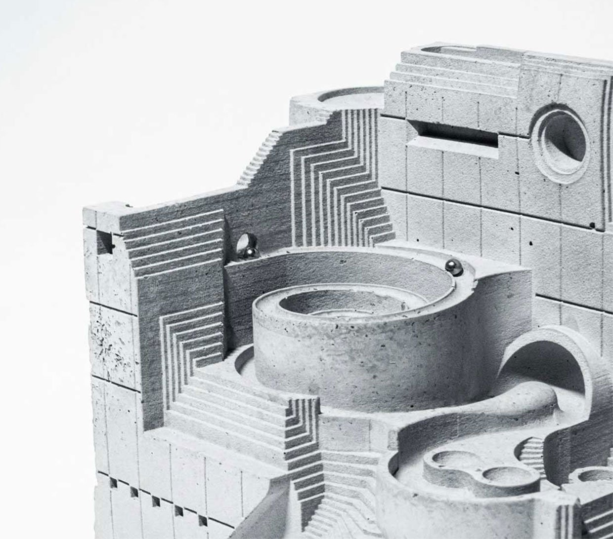The Factory Concrete Marble Maze