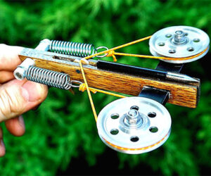 Making a Mini Compound Crossbow