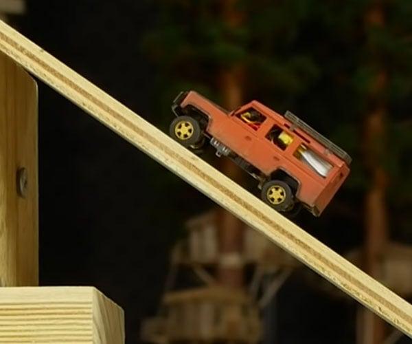 Building a Tiny Land Rover Defender