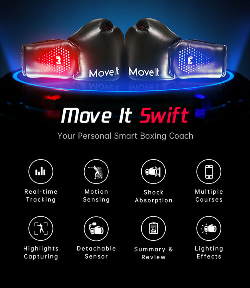 Move It Swift Boxing Gloves