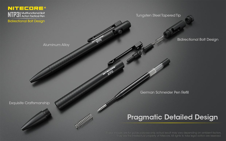 Nitecore NTP31 Pen