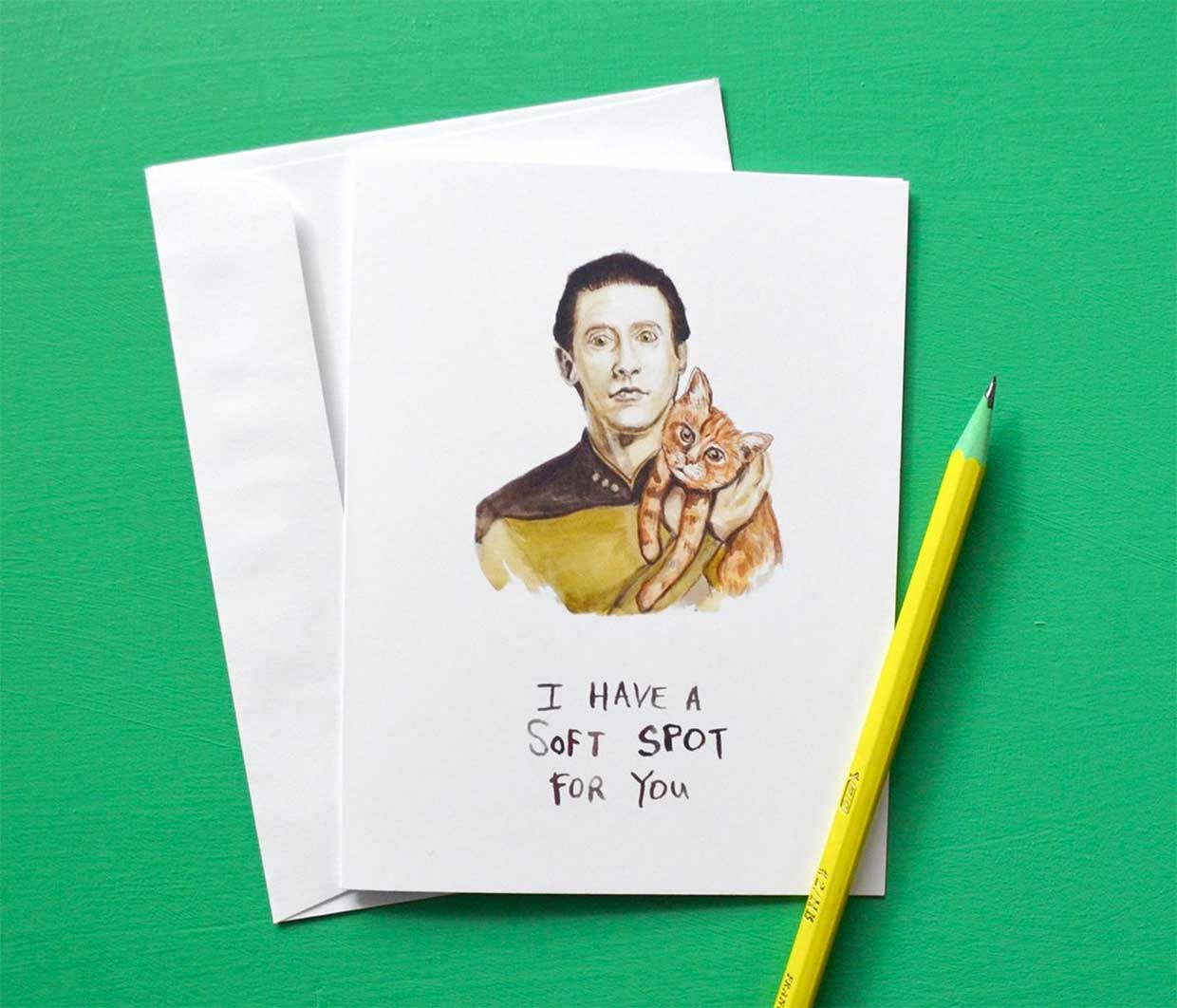 Pop Culture Greeting Cards