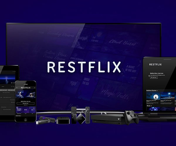 Restflix Sleep Streaming Service