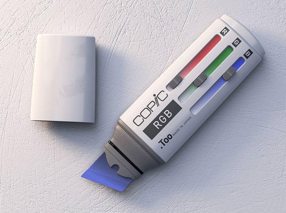 RGB Slider Marker Concept