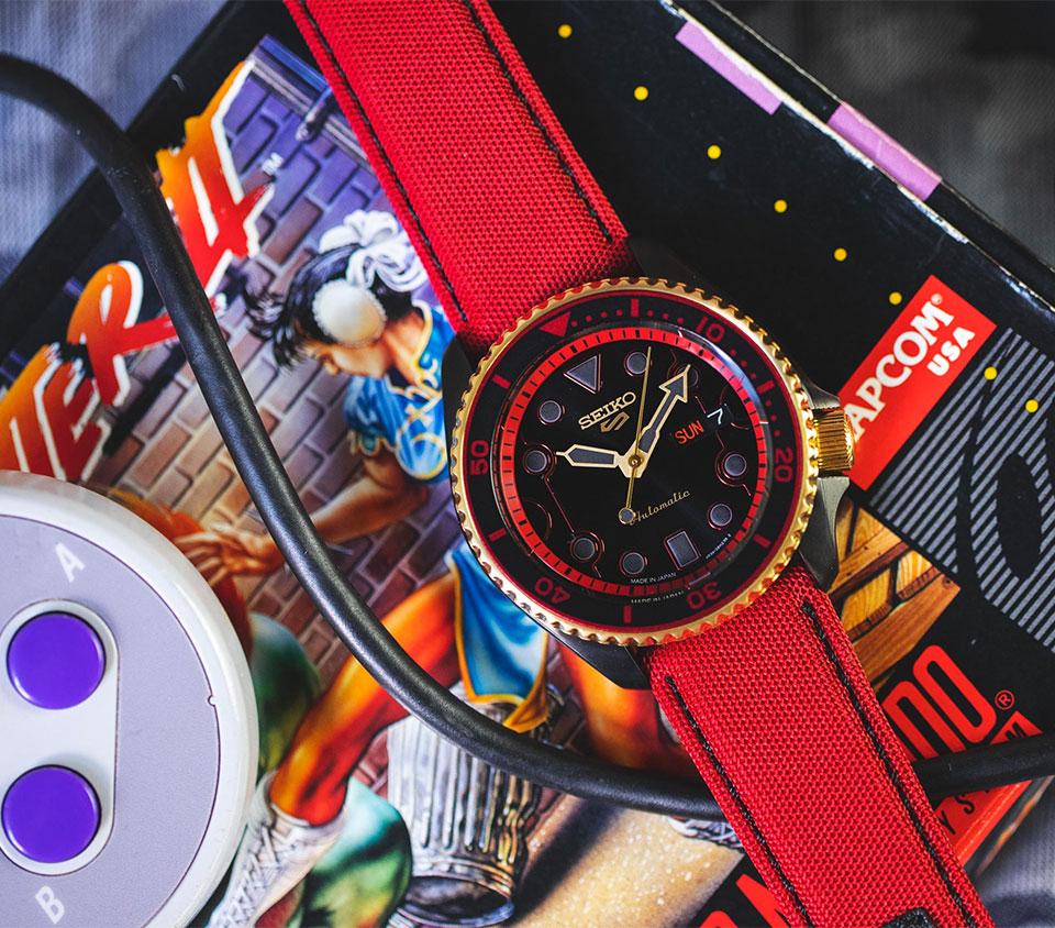 Seiko x Street Fighter Watches