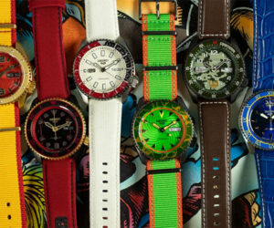 Seiko x Street Fighter Watches