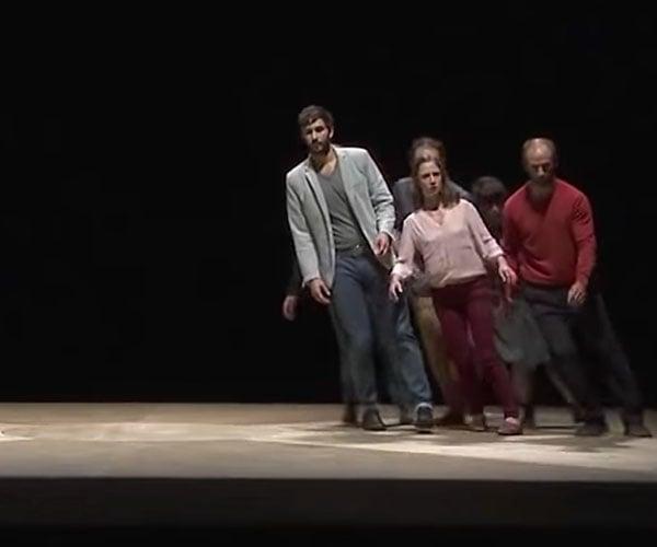 Spinning Platform Choreography