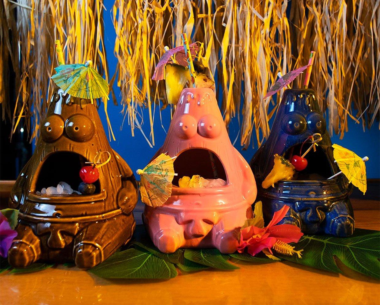 Spongebob Tiki Mugs
