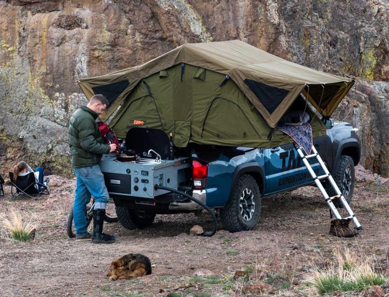 Talus VenturePack Camper