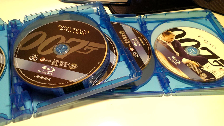 The James Bond Collection (Blu-ray)
