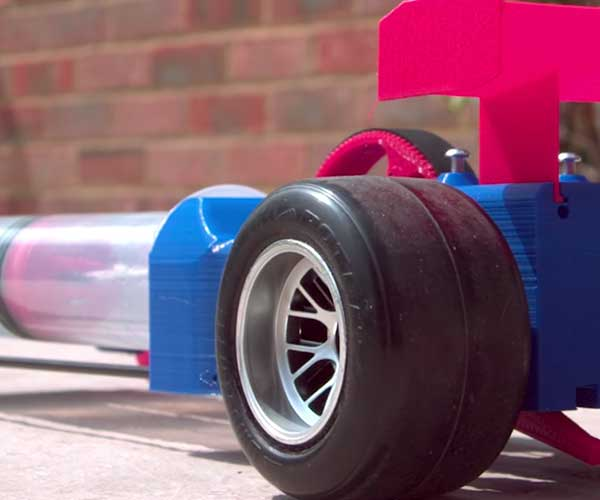 Making a Vacuum-powered Dragster