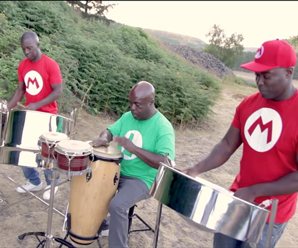 Nintendo Music on Steel Drums