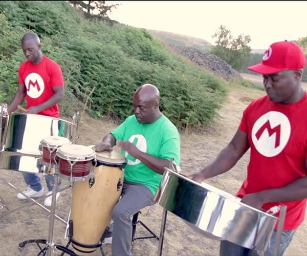 Nintendo Music on Steel Drums