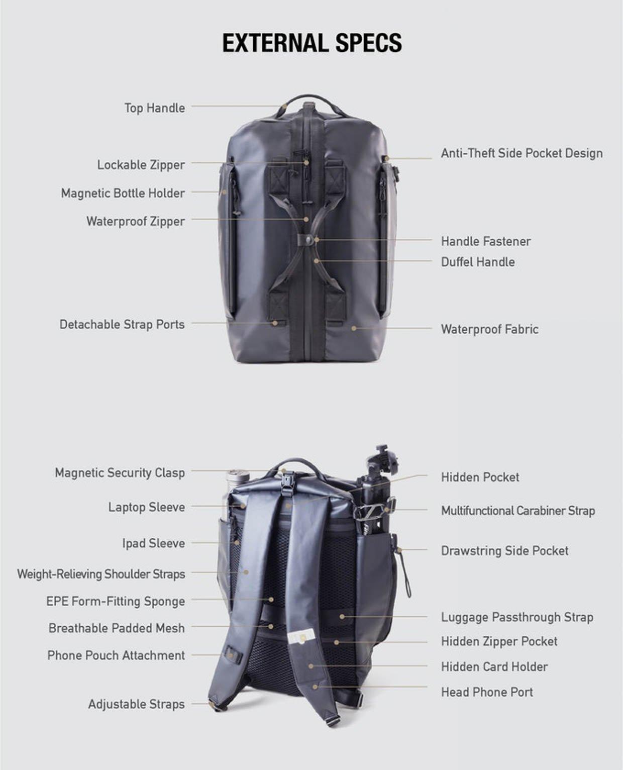 Wingman Modular Adventure Pack