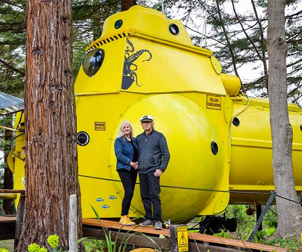 Yellow Submarine Tiny House