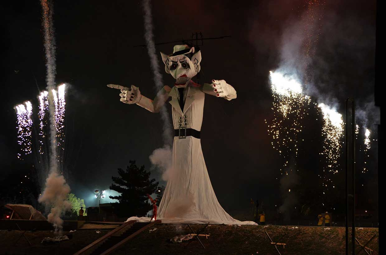 Zozobra: The Original Burning Man
