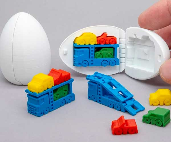 3D-Printed Surprise Eggs