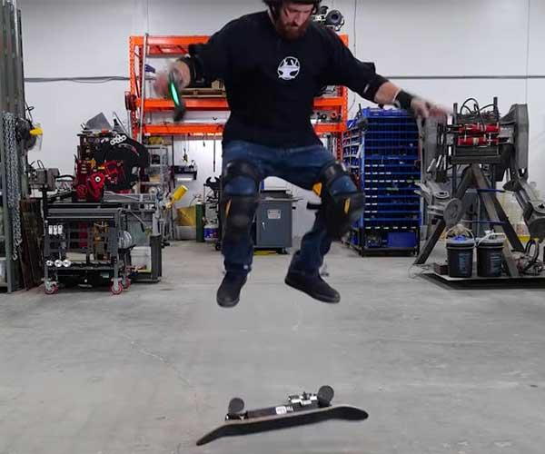 Automatic Kickflip Skateboard