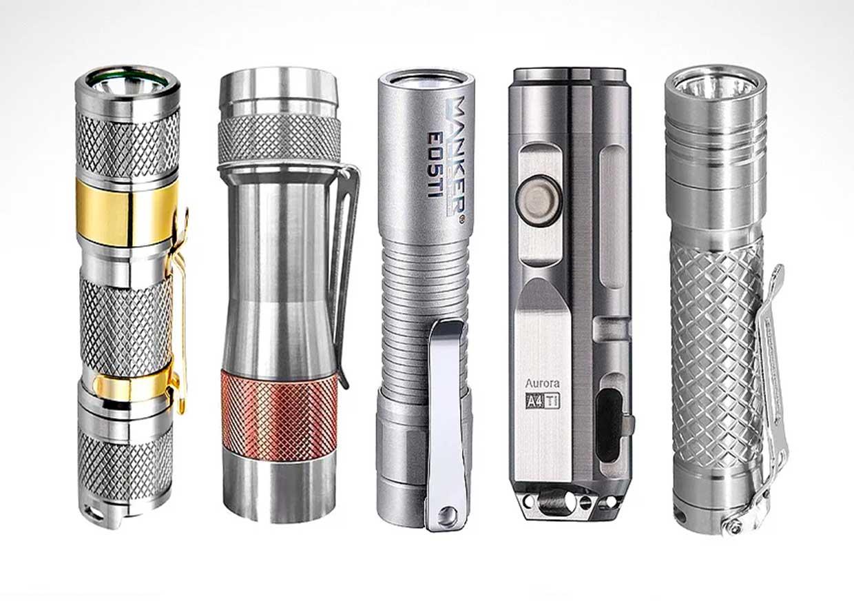 Best Titanium Flashlights 2020