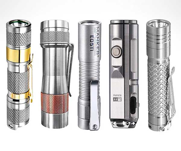 Best Titanium Flashlights 2020